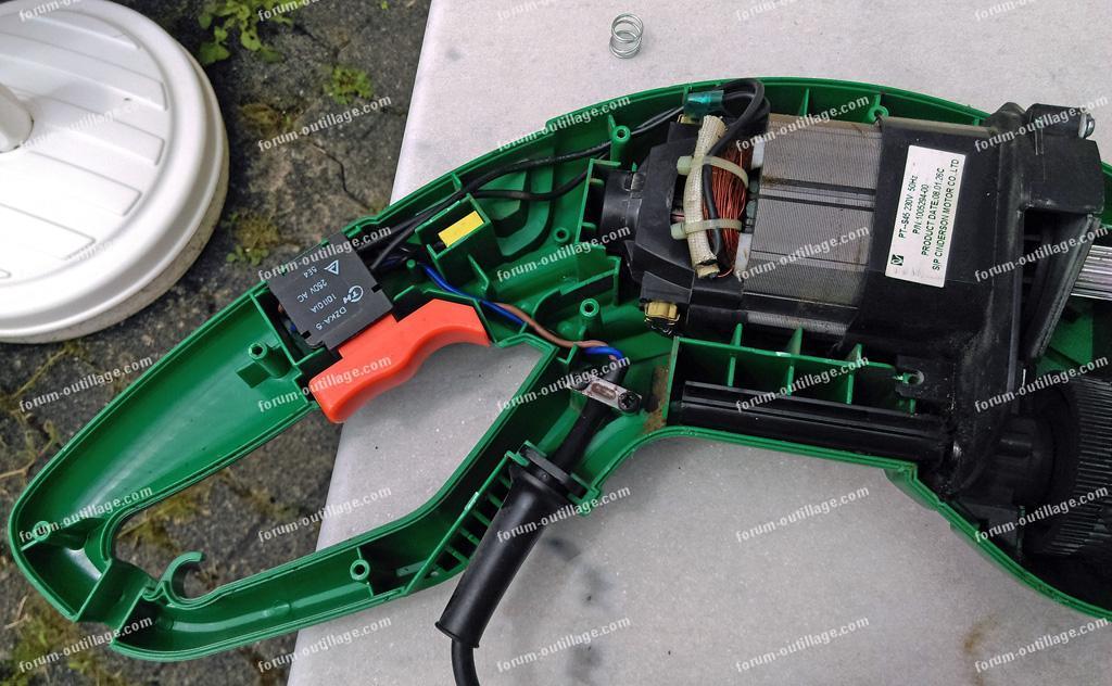 bloc moteur coupe bordure Black&Decker GL701