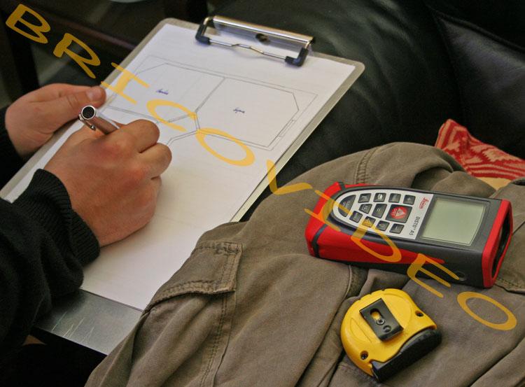 bricolage mesure laser