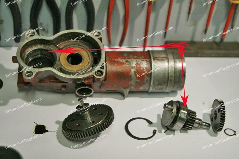 Changer joints perforateur Hilti TE 75