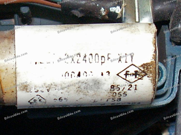 condensateur perceuse