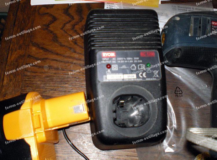 depannage chargeur de batteries