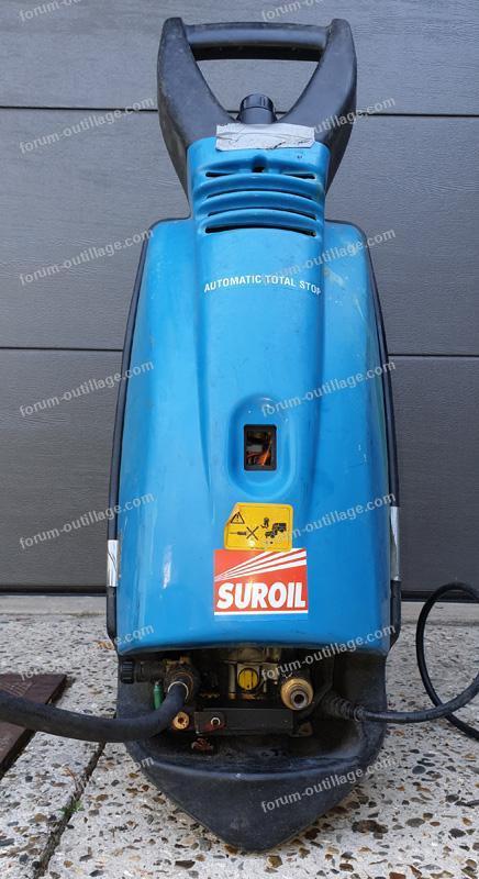 dépannage nettoyeur Haute Pression Suroil TITAN 150