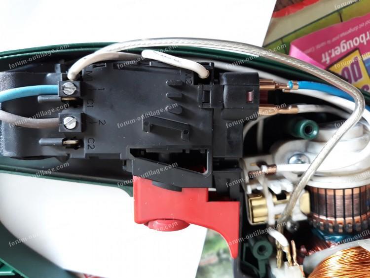 dépannage perceuse Bosch PBH 200 FRE