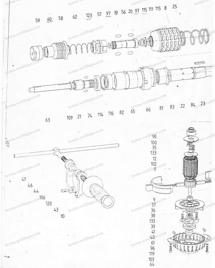doublon 560957 perforateur hilti bv02