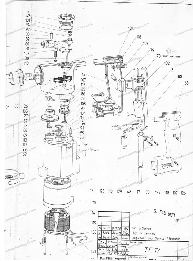 doublon 868258 perforateur hilti bv01