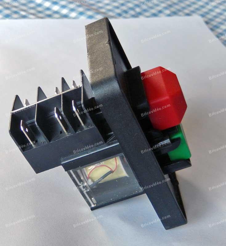 Sch ma lectrique scie sur table id al power 225757 - Comment brancher une table a induction ...