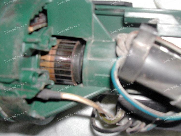 meuleuse Bosch fait des étincelles