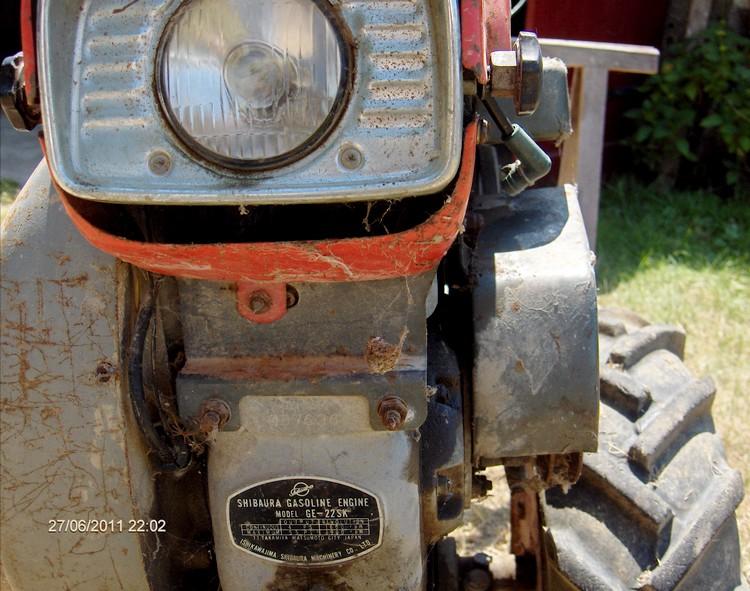 moteur schibaura motoculteur