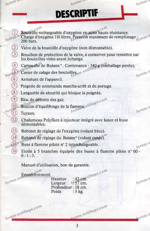 notice chalumeau coxynel 3