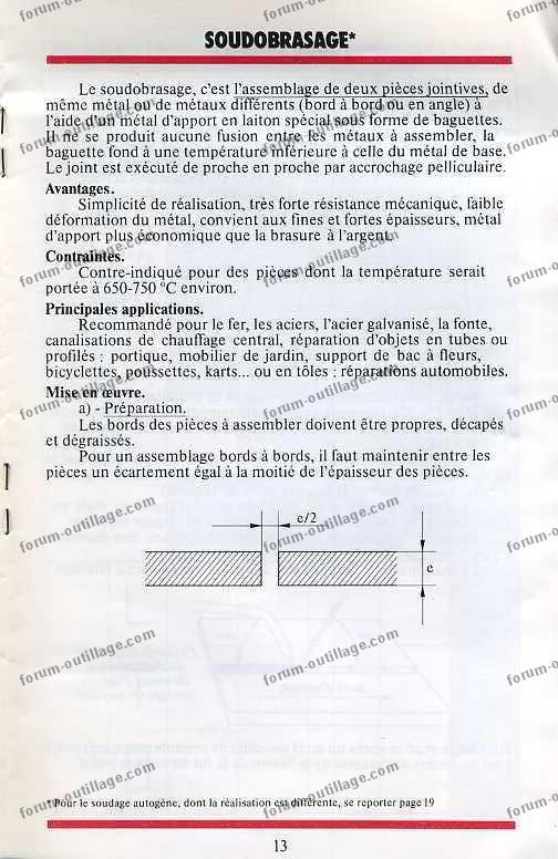 notice chalumeau coxynel 13