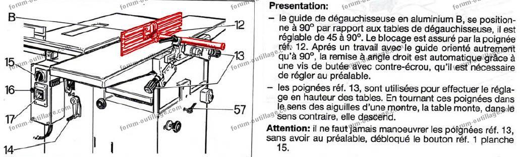 notice combinée bois Sicar H300