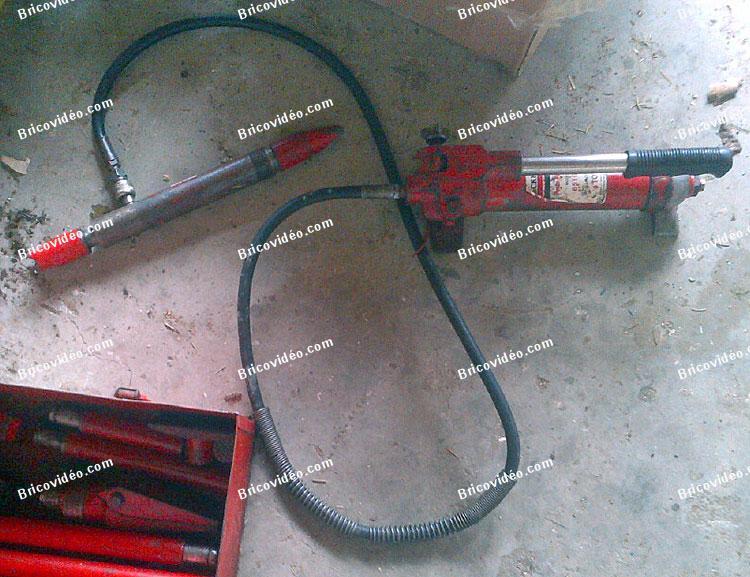 outil mecanique ou carrosserie