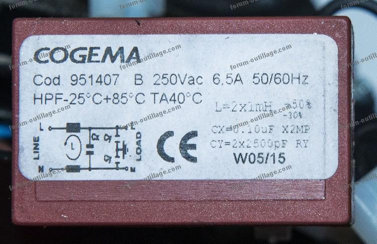 dépannage scie à ruban Femi 780 XL