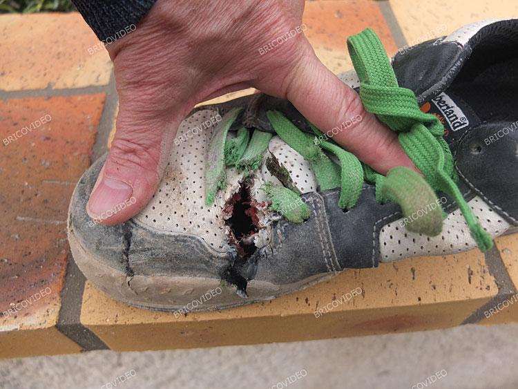 Problème chaussures dites de sécurité