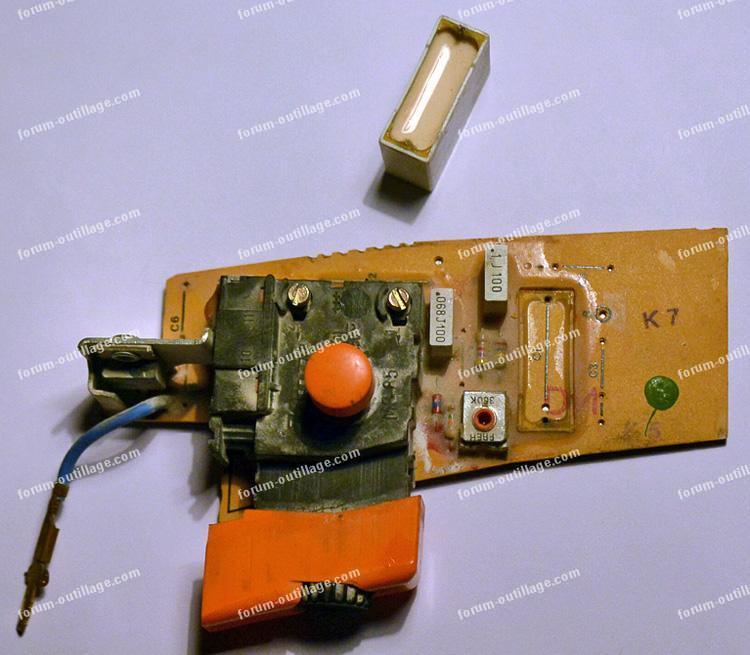 remplacer condensateur de perceuse