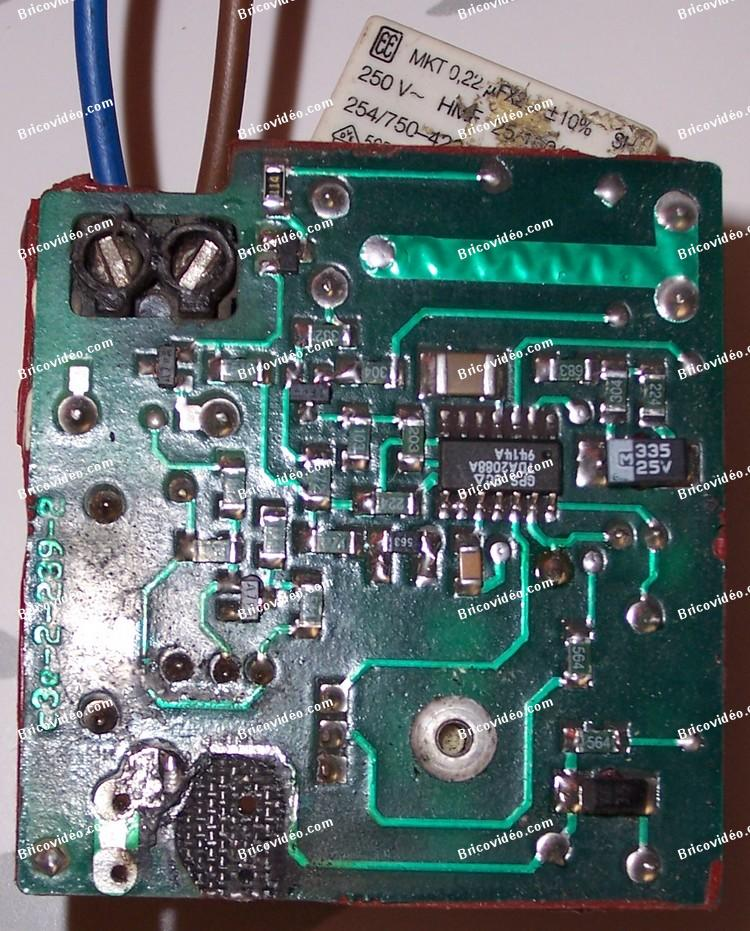 réparation pistes circuit imprimé
