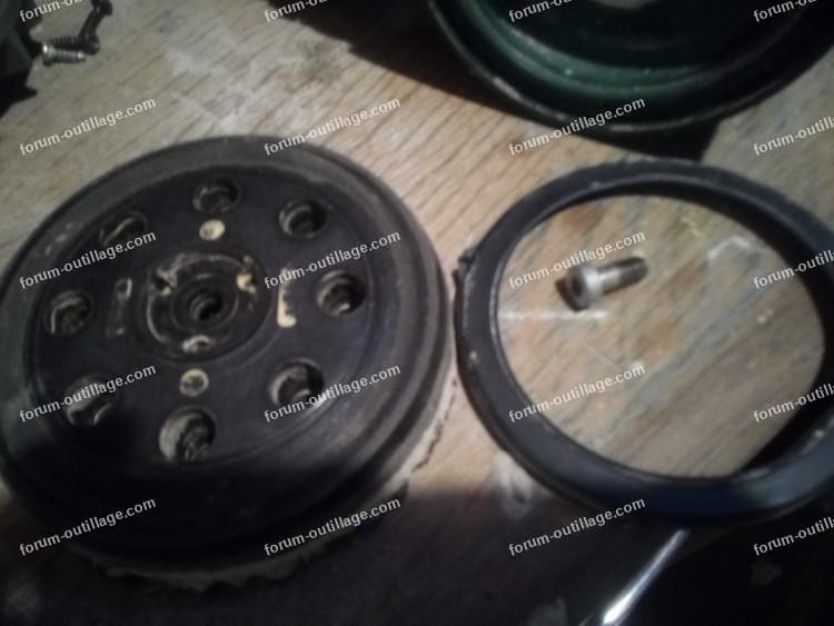 réparation ponceuse Bosch PEX12 AE