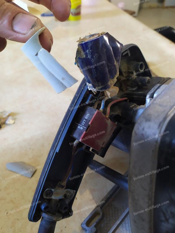 réparation scie circulaire Peugeot