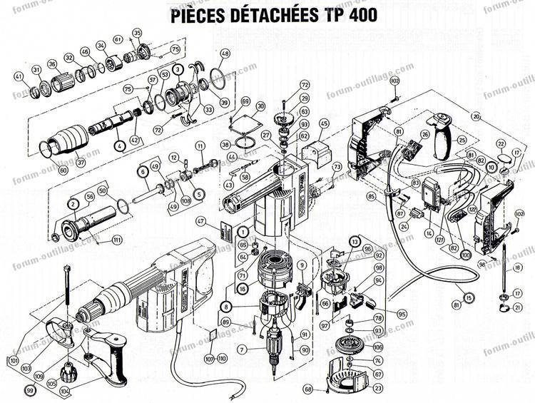 Hilti Te 70 Parts Diagram