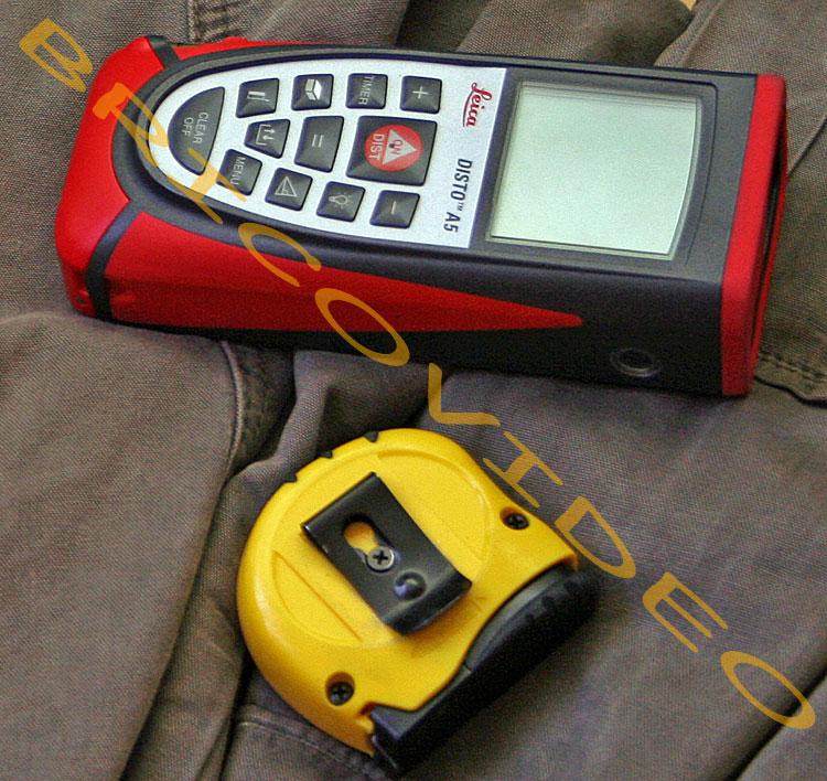 utilisation telemetre laser