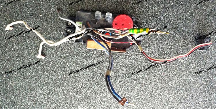 Panne variateur perforateur Bosch GBH 5-40 DE